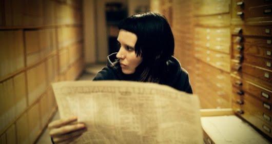 Rooney Mara en 'La chica del dragón tatuado'