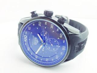 Jual jam tangan Tag Heuer Mikrograph Rubber, harga murah dan grosir online | Stylengo.biz