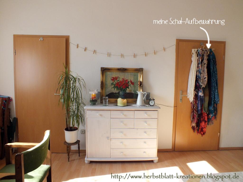 Herbstblatt-Kreationen: Mein Wohnzimmer im (verfrühten?) Frühlings-Licht