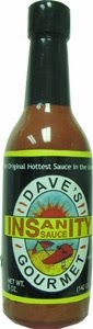 Dave's Insanity Sauce Inflatable Display Bottle