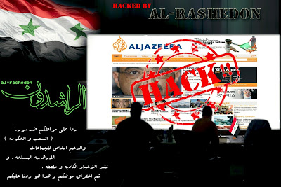 Al-Jazeera website defaced by pro-Syrian hackers
