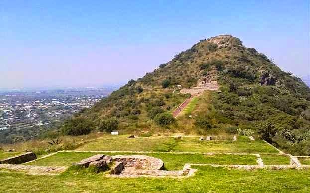 Zona arqueológica Tetzcotzinco - Estado de México