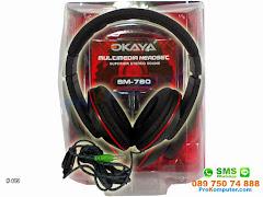 Headset Stereo Mikrofon Okaya SM780