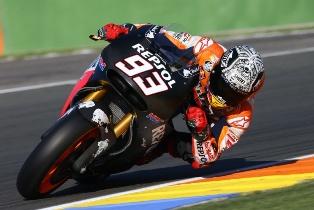 Marc Marquez Jatuh Dua Kali dalam Sesi Uji Coba di Sirkuit Jerez