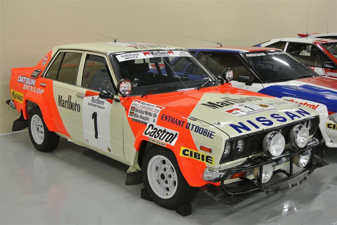 Datsun Violet, wyścigowy, rajdowy, sport, japoński samochód, sedan, racing, rallying