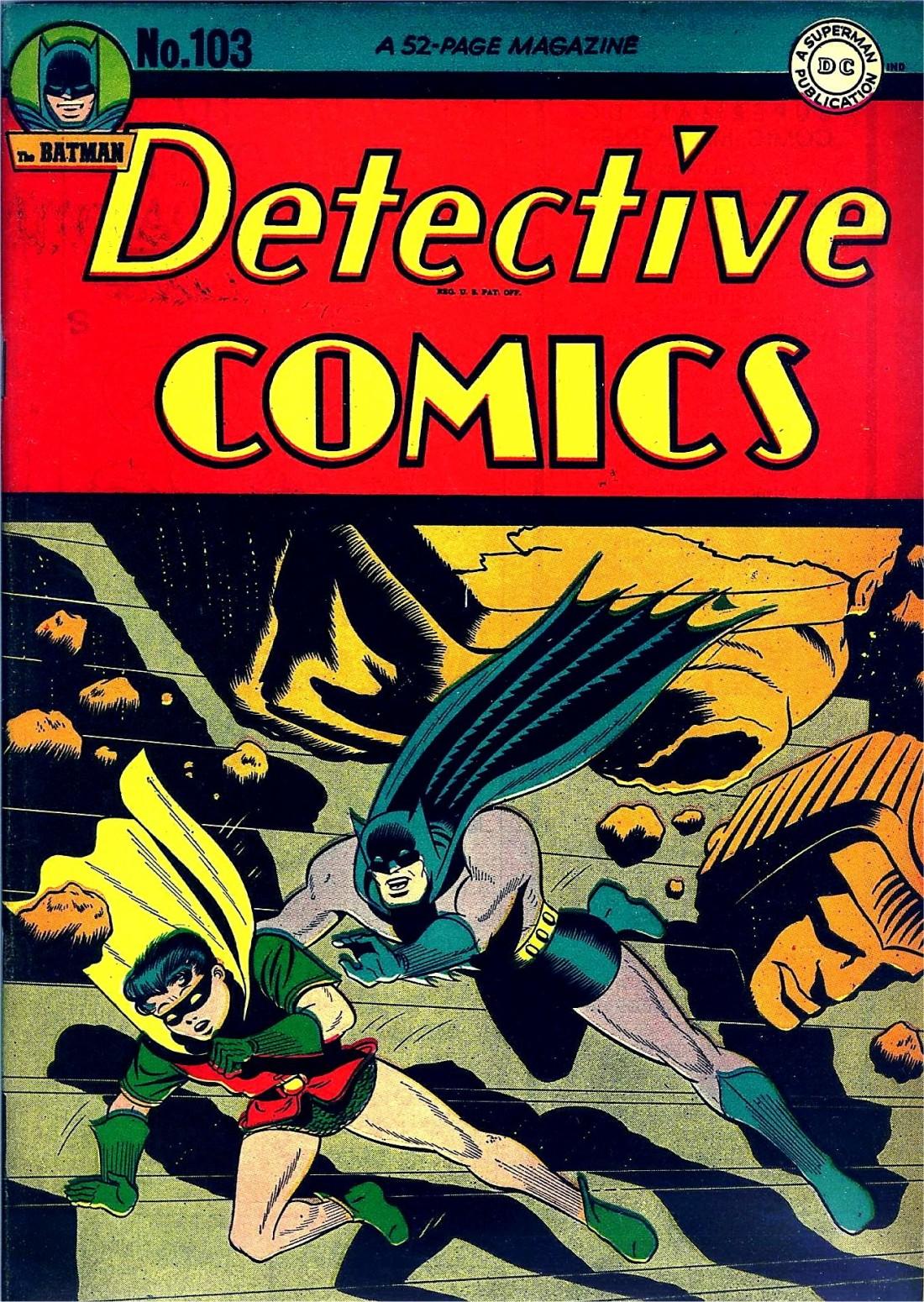 Detective Comics (1937) 103 Page 1