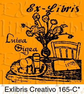 EXlibris Creaivo 165C