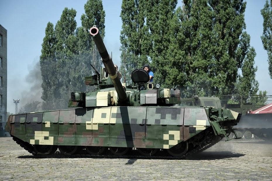 Glavcom: Танк Т-84 Оплот – гордость украинского ВПК