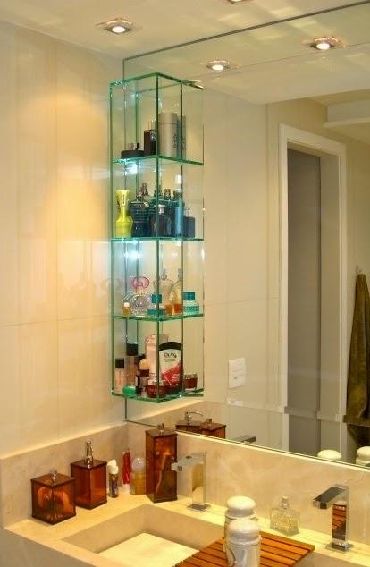 Kate Macedo Coloque nichos no seu banheiro -> Nichos Externos Banheiro
