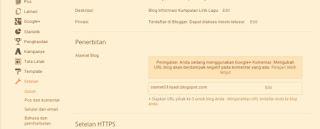 Cara Mengembalikan Nama Domain TLD Kembali Ke Blogspot