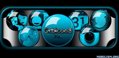 Blue OrbiconS Icon Pack v1 APK