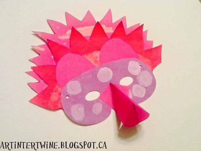 Wild Beast Mask Art Project For Kids
