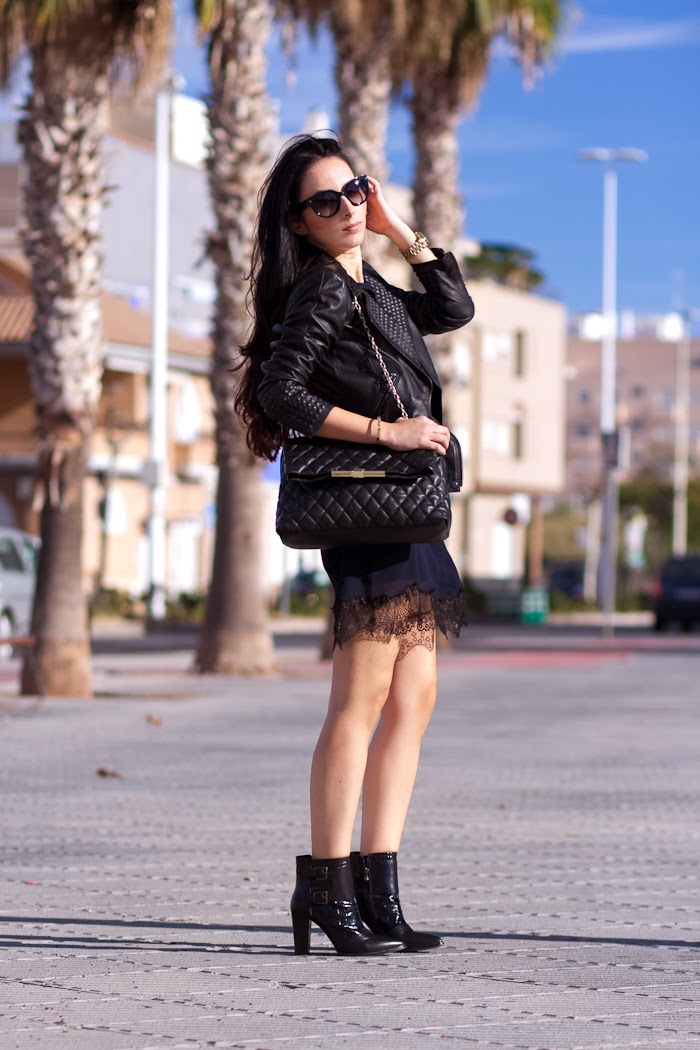 Streeetstyle Vestido lencero blogger Withorwithoutshoes