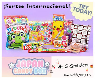 Sorteo Japan Candy Box