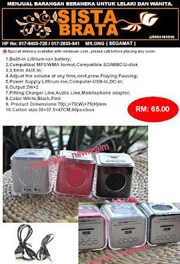 MP3 Speaker SB02 RM 65