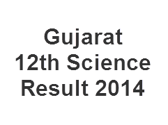 Gujarat 12th Science Result 2014