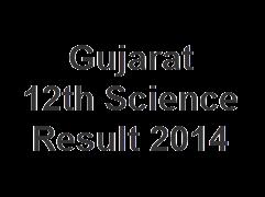 Gujarat 12th Science Result 2014
