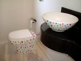 decore seu banheiros com adesivos de banheiro