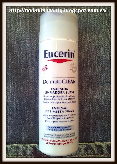 Emulsión Limpiadora Suave - DermatoClean de Eucerin  (review)