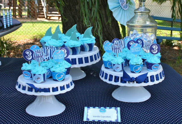 shark week 2013 party ideas Frog Prince Paperie printables