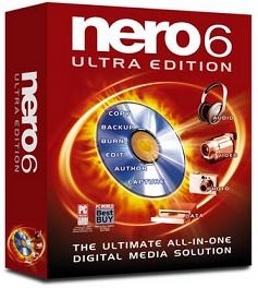 Nero 6 работает с