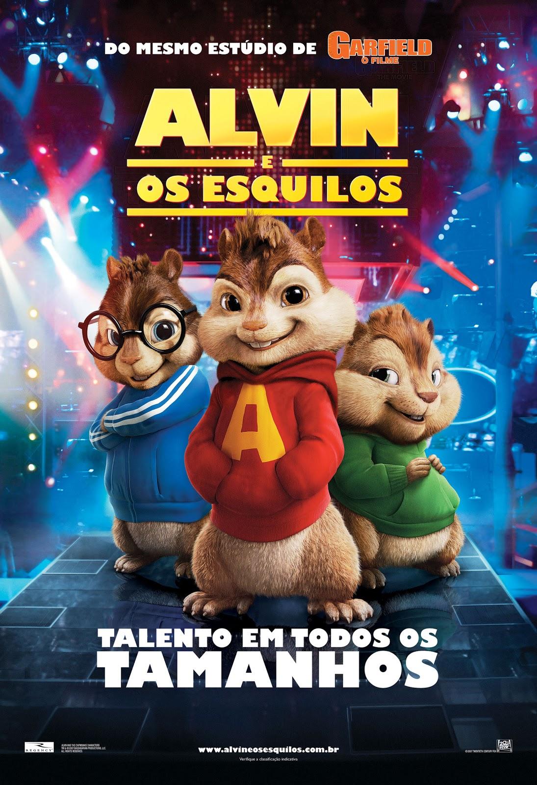 Alvin e os Esquilos Dublado
