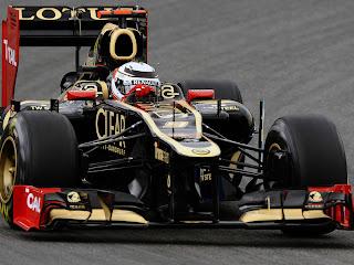 Kimi Raikkonen German GP 2012 Race