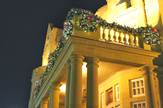 Government House at Christmas Edmonton