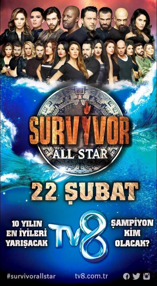 Survivor All Star 24 Şubat 2015 izle