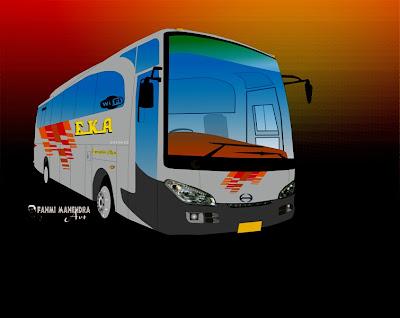 Disain Bus 2D PO EKA