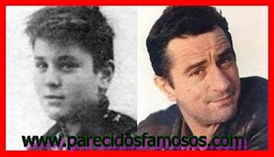 Robert De Niro antes y después