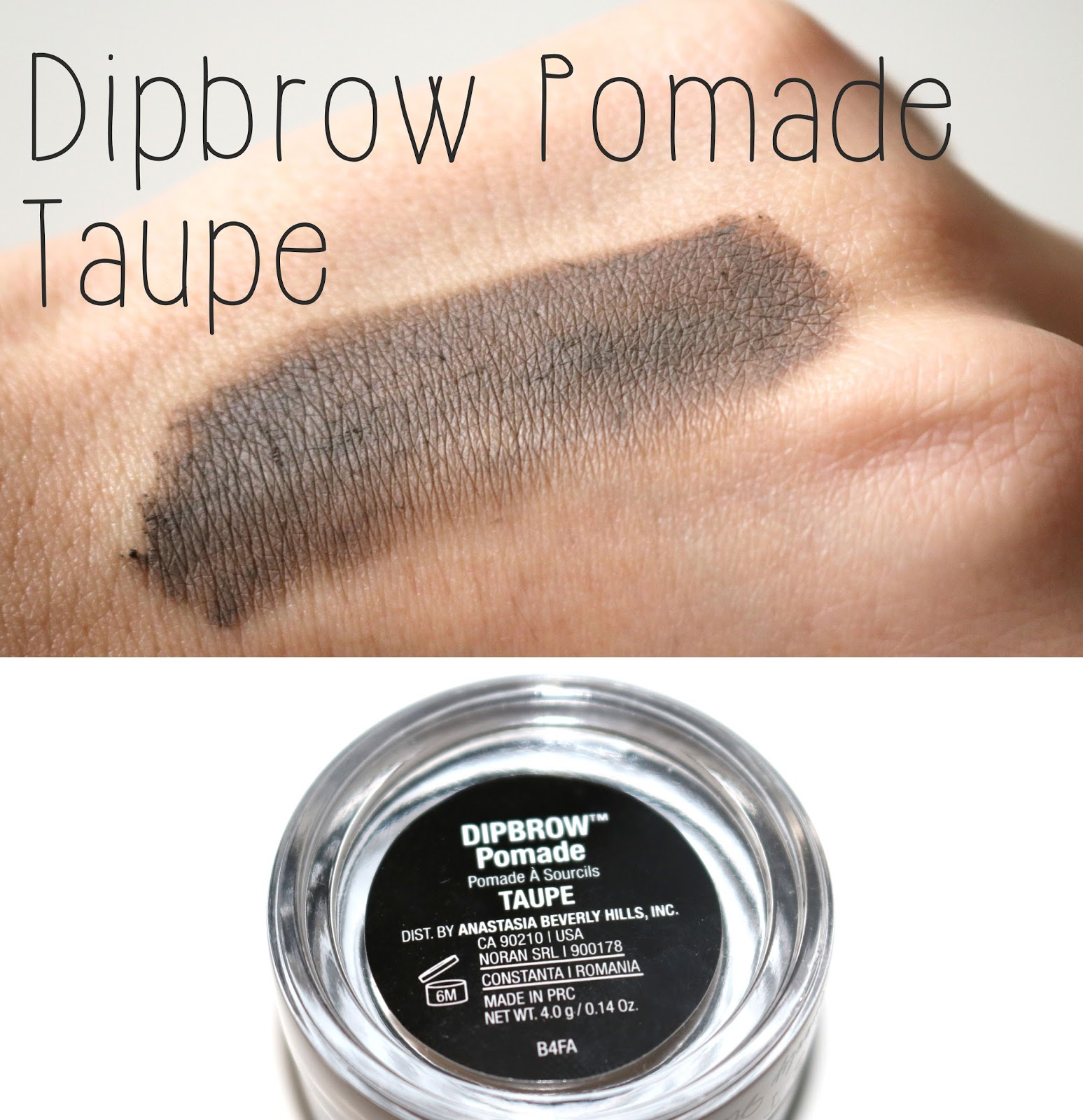 anastasia of beverly hills dipbrow pomade in taupe reviews photos modekleidung anastasia beverly. Black Bedroom Furniture Sets. Home Design Ideas
