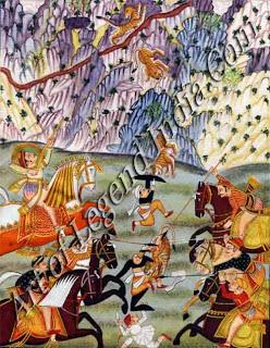 Hunting Maharana