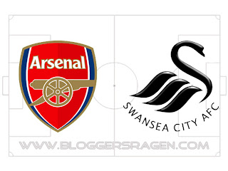 Pertandingan Swansea City vs Arsenal