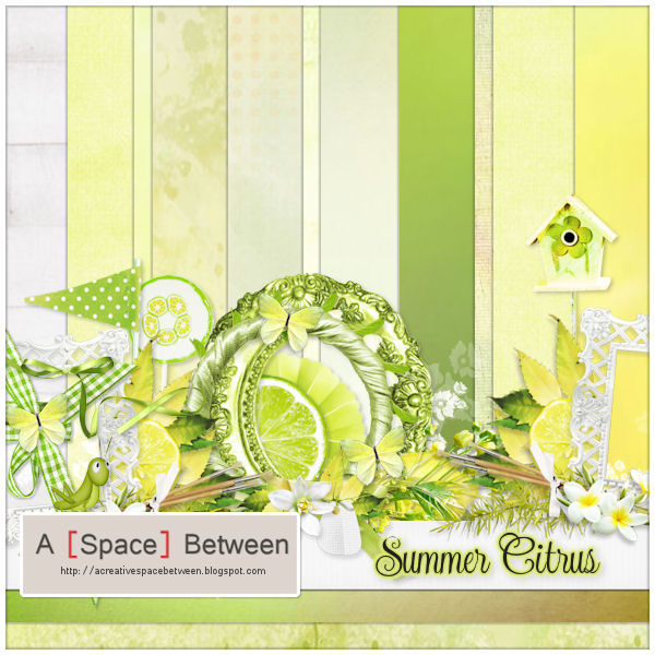 Scrapkit: Summer Citrus