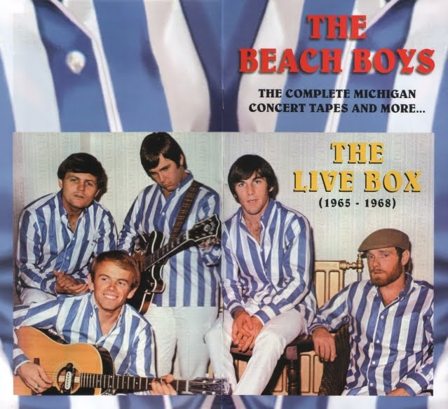The Beach Boys - 'The Live Box [1965 - 1968]