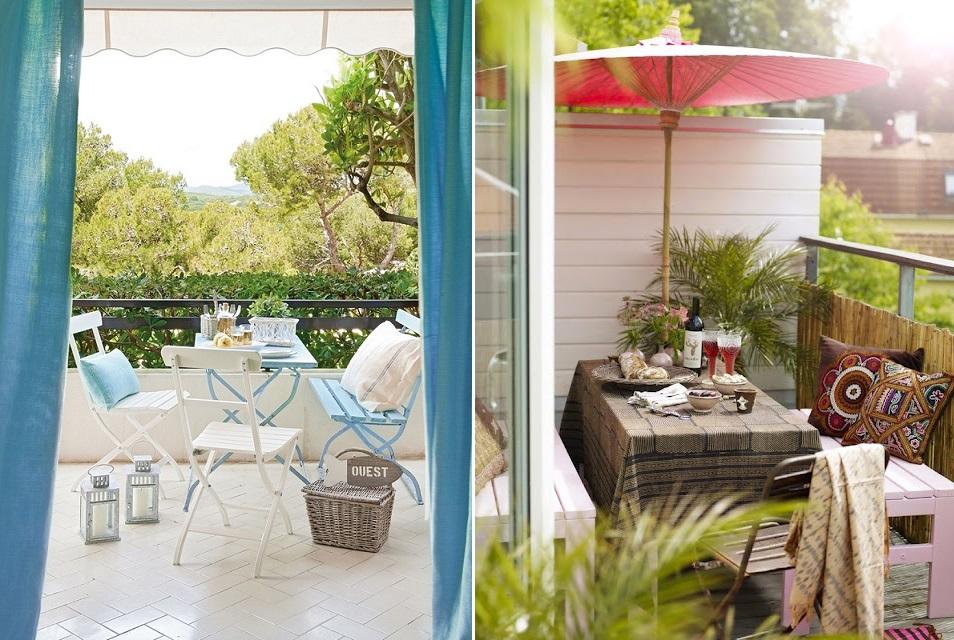 Tu mejor sonrisa en cualquier ocasi n mini terrazas con - Terrazas pequenas con encanto ...