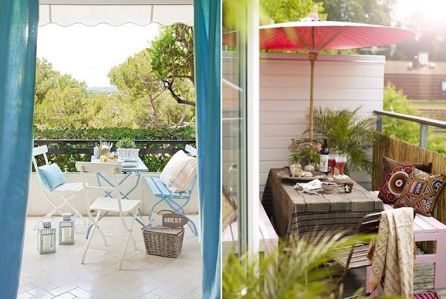 Tu mejor sonrisa en cualquier ocasi n mini terrazas con - Decorar terrazas con encanto ...