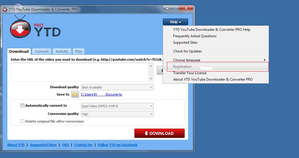 ytd youtube downloader & converter free download for windows xp