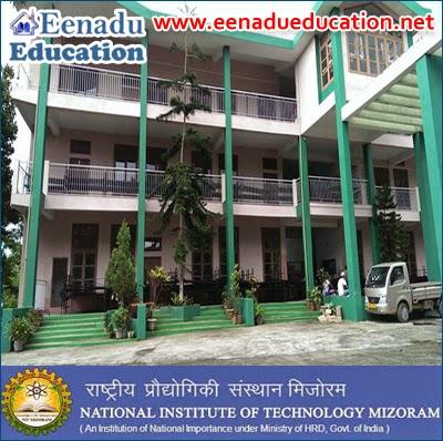 NIT Mizoram Posts