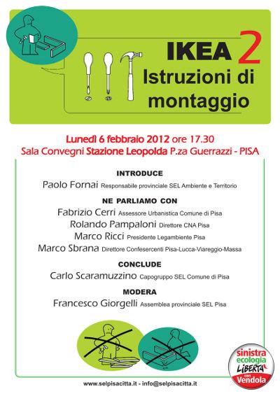 WWF Alta Toscana : Ikea 2 - Istruzioni per il montaggio - Lunedi 6 ...