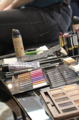 Makeup for Fashion Show #vintage #makeup #fashion