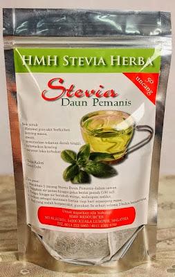 Minuman Daun Stevia Uncang, Ganti Gula, Untuk Diabetes.