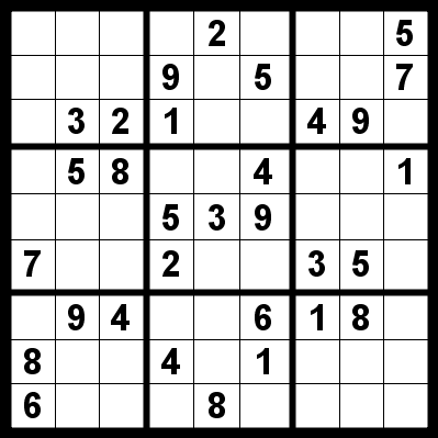 Sudoku Printable Easy on Printable Sudoku
