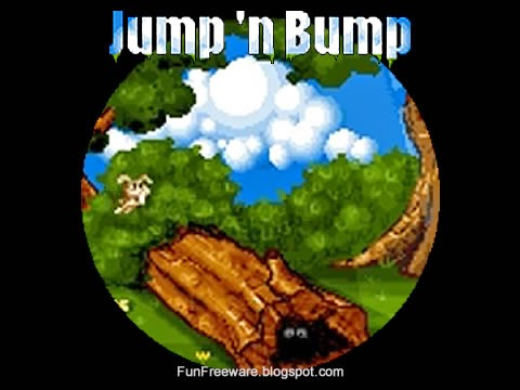 Jump'n'Bump - Freeware Platform Game Splash Image