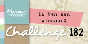 1e Prijs bij Marianne Design Challenge Blog!!