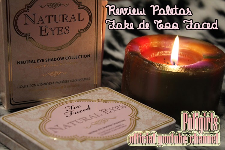 PALETAS FAKE DE TOO FACED: BOUDOIR EYES Y NATURAL EYES