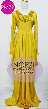 (LESS 20% UNTIL AIDILFITRI)NBH0159 AINI DRESS (MATERNITY FRIENDLY)