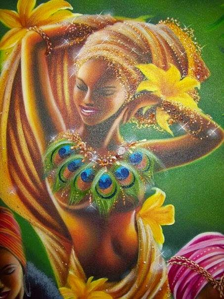 Oshun love is the goddess of sex hands down she is a master in her field of pleasure - 5 1