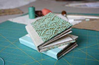 Two handmade books